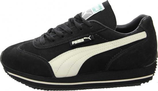 Puma Schuhe Street Cat Nubuck Black / Sand - Sneaker Sneaker Schuhe - Laufschuhe