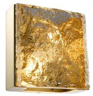 Casa Padrino Hotel Restaurant Wandleuchte Gold 24 x 12, 5 x H. 23 cm - Luxus Möbel