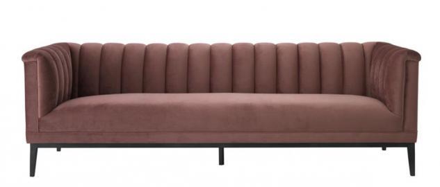 Rose sofa g nstig sicher kaufen bei yatego for Sofa altrosa