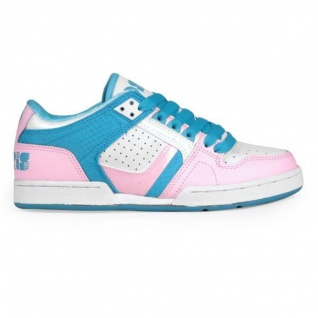 Osiris Skateboard Schuhe Harlem Girls Kids White/Pink/Vice - Vorschau