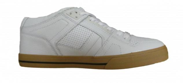 Osiris Skateboard Schuhe --NYC 83 Mid VLC-- White Black Gum