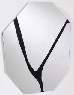 Casa Padrino Designer Wandspiegel 56 x H. 76 cm - Wohnzimmer Spiegel - Garderoben Spiegel - Designermöbel