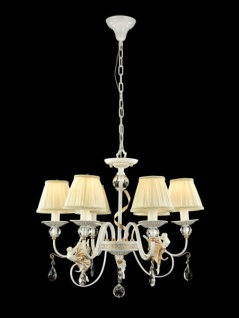 Casa Padrino Barock Kristall Decken Kronleuchter Gold 61 x H 51 cm Antik Stil - Möbel Lüster Leuchter Hängeleuchte Hängelampe