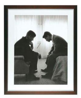 Casa Padrino Druck John & Robert Kennedy 78 x H. 92 cm - Luxus Bild