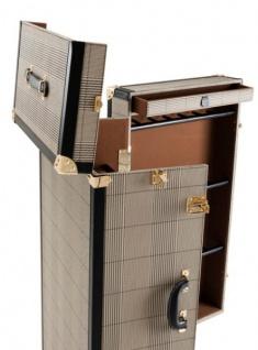 Casa Padrino Luxus Schuh Schrank im Vintage Koffer Design - Kommode - Art Deco Barock Jugendstil Kofferschrank - Luxus Hotel Einrichtung - Vorschau 2