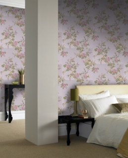 Graham & Brown Barock Landhaus Stil Tapete Rose Cottage Vliestapete Vlies Tapete Mod 50-438 - Vorschau 4
