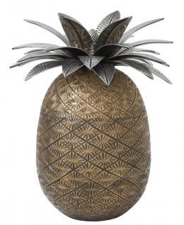 Casa Padrino Luxus Dekoration Ananas 16 x H. 28 cm - Designer Hotel Restaurant Deko