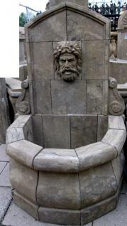 Casa Padrino Antik Stil Stein Garten Brunnen H100cm Neapel - Steinbrunnen Barock Jugendstil Garten Dekoration