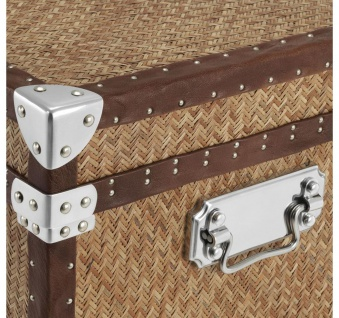 Casa Padrino Luxus Couchtisch im vintage Koffer Design 85 x 85 x H. 51 cm - Designer Möbel - Vorschau 2