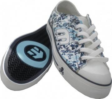 Etnies Schuhe Weiß/Blau Bernie Weiß/Blau Schuhe Skulls EU 37.5 16748b