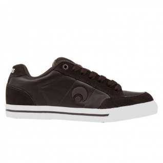 Osiris Skateboard Schuhe Clip Brown/White