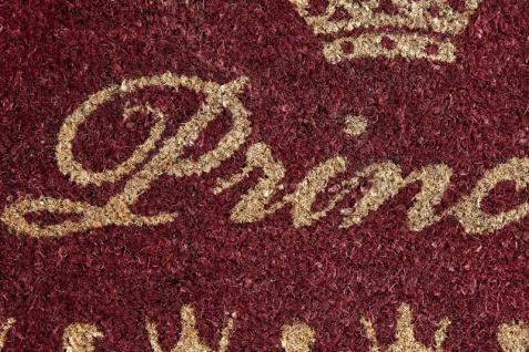 Designer Fußmatte Princess, Länge 70 cm, Breite 40 cm, Höhe 2 cm - Schmutzfangmatte - Vorschau 3