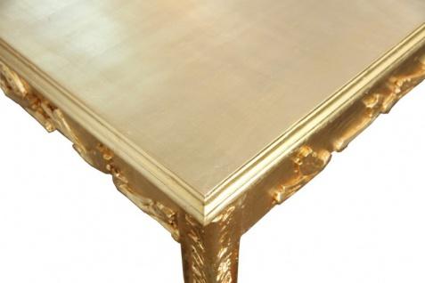 Casa Padrino Barock Esstisch Gold 200 x 99 cm Mod2 - Esszimmer Tisch - Möbel Antik Stil - Vorschau 4