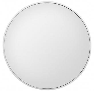 Casa Padrino Luxus Wandspiegel Silber Ø 120 cm - Runder Luxus Spiegel