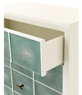 Casa Padrino Luxus Mahagoni Schrank 96, 5 x 47, 5 x H. 130 cm - Designer Möbel - Vorschau 5