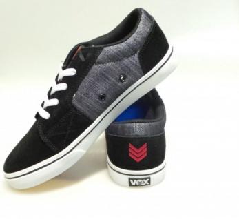 Vox Skateboard Skateboard Vox Schuhe Shovelhead Schwarz/Raw Denim/Weiß 88eb88
