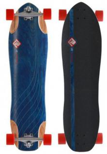 Flying Wheels Longboard Cruiser Straight 37 Komplettboard Carver - Special Edition mit Koston Kugellagern