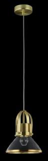 Casa Padrino Luxus Pendelleuchte / Hängeleuchte Messingfarben Ø 18, 5 x H. 23 cm - Leuchten & Lüster - Vorschau 5