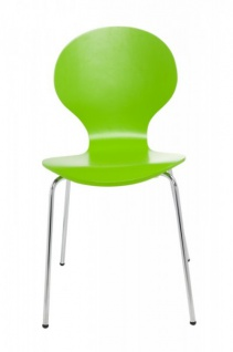 Casa Padrino Designer Stuhl Form Grün 8579