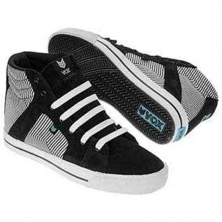 Vox Skateboard Schuhe Footwear Vamp Schwarz/Blau/Linear - Vorschau