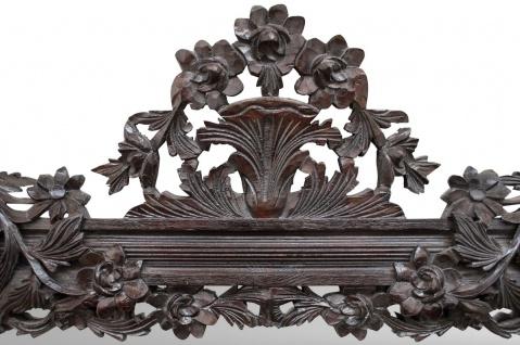 Casa Padrino Barock Spiegel / Wandspiegel Dunkelbraun 122 x H. 224 cm - Barockstil Möbel - Vorschau 3
