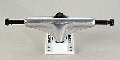 Core Skateboard Achsen Set 5.0 silber/weiß (2 Achsen)