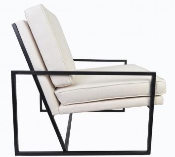 Casa Padrino Luxus Sessel 84 x 87, 5 x H. 80 cm - Verschiedene Farben - Wohnzimmer Hotel Büro Club Sessel - Luxus Kollektion - Vorschau 3