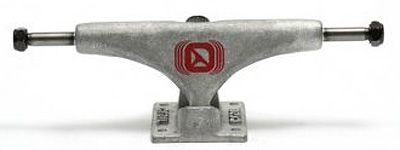 Crail Skateboard Achsen Set 129 LOW LIGHT raw silber (2 Achsen)