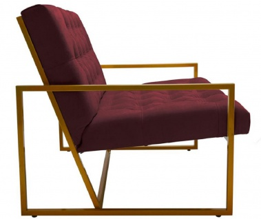 Casa Padrino Luxus Chesterfield Sessel 84 x 87, 5 x H. 80 cm - Verschiedene Farben - Chesterfield Möbel - Vorschau 3