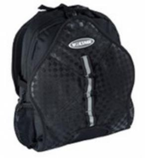 Voltage Skateboard Rucksack Black Karo - Backpack mit Boardcatcher