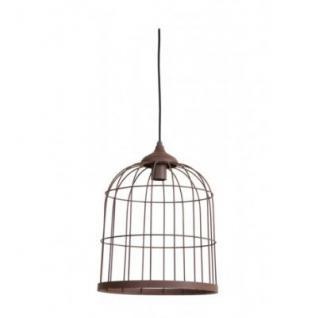 Casa Padrino Hängeleuchte Deckenleuchte Bronze Industrial Design Durchmesser 30 x H 39 cm - Industrie Lampe Leuchte Industrieleuchte
