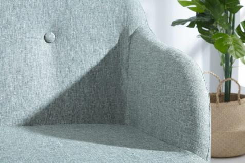 Casa Padrino Designer Sitzbank Hellgrün Breite 116 cm, Höhe 57 cm - Vorschau 4