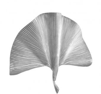 Casa Padrino Wandleuchte Silber 67 x 11 x H. 48 cm - Luxus Wandlampe