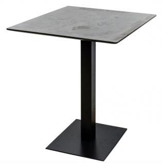Casa Padrino Luxus Bartisch mit mineralbeschichteter Tischplatte 70 x 70 x H. 100 cm - Luxus Kollektion