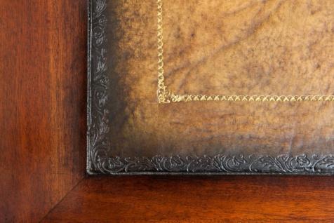 Casa Padrino Luxus Schreibtisch / Sekretär Mahagony Wood Antik Stil Braun 175 x 80 cm - Vorschau 4