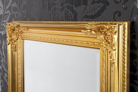 Handgefertigter Barock Wandspiegel Gold Antik, Höhe 55 cm, Breite 45 cm, Tiefe 4 cm - Edel & Prunkvoll - Vorschau 3