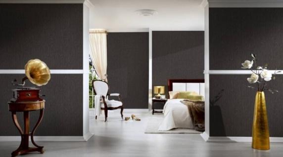 Versace Designer Barock Vliestapete IV 37052-4 Grau / Schwarz - Luxus Tapete - Hochwertige Qualität - Vorschau 2