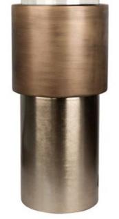Casa Padrino Luxus Kerzenhalter / Teelichthalter Bronze Ø 35 x H. 99 cm - Hotel & Restaurant Deko - Vorschau 3