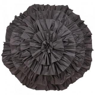 MySchirm Designer Automatikschirm eleganter Schirm für viele Gelegenheiten in schwarz - romantischer Dekoschirm - Vorschau 2