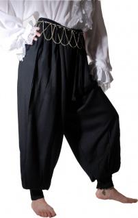 Harem Pirate Pantalon - Black