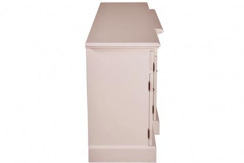 Casa Padrino Shabby Chic Landhaus Stil Kommode Weiß B 217 cm - H 90 cm Möbel Diele Esszimmer Schrank - Vorschau 3