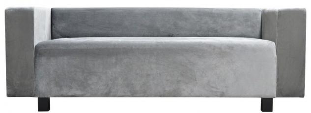 Casa Padrino Luxus Samt Sofa 200 x 75 x H. 70 cm - Verschiedene Farben - Wohnzimmer Möbel - Luxus Qualität