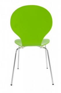 Casa Padrino Designer Stuhl Form Grün 8579 - Vorschau 3