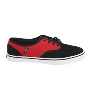 Vox ClassX Skateboard Schuhe- Schwarz/Rot/Weiß