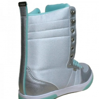 Osiris Uptown Ltd Girls Winter Boots White/Teal/Silver - Snowboard Skateboard Boot Stiefel Schuhe - Vorschau 4