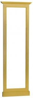 Casa Padrino Landhausstil Spiegelrahmen Gelb 65 x 8 x H. 195 cm - Landhausstil Möbel