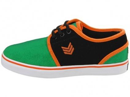 Vox Skateboard Kids Schuhe Slacker Green/Black/Orange