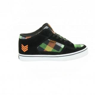 Vox Skateboard Schuhe Hewitt Beer Hunter Black Orange Green