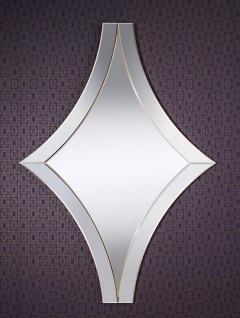 Casa Padrino Luxus Spiegel / Wandspiegel Gold 107 x H. 151 cm - Luxus Qualität