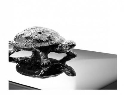 Casa Padrino Luxus Beauté Box Schildkröte 33 x 22 x H. 13, 5 cm - Schmuckkasten - Schmuckkästchen - Schmuckschatulle - Vorschau 5